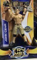 WWE Super Strikers Figure John Cena 6 Inch Figure Rare 6 Inch Collector's Item
