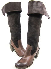 MIZ MOOZ, FINNEGAN BOOT, WOMENS, BROWN, US 8M, EURO 38, LEATHER, NEW WITHOUT BOX