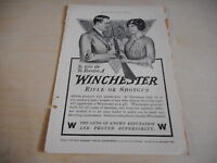 1914 MAGAZINE AD #A4-110 - WINCHESTER RIFLE - CHRISTMAS GIFT?
