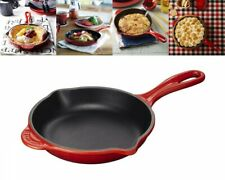 Le Creuset 20124-20 Casting Enamel Frying Pan Skillet Cherry Red Fast Ship Japan
