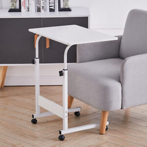 Mobile Computer Desk Adjustable Laptop Stand Over Lap Sofa Bed Side PC Table