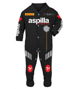 Aspilla Baby Biker Race Sleep Suit