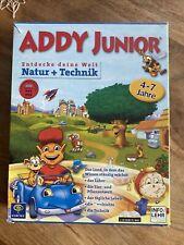 Addy Junior Natur & Technik Lernspiel für PC & MAC Spiel 4-7 Jahre