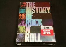 The History of Rock N' Roll - Boxed Set (DVD, 2004, 5-Disc Set)  FANTASTIC MUSIC