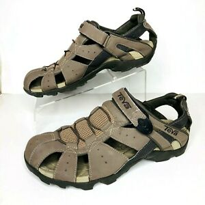 Teva Deacon 6968 Closed Toe Trail Hiking Water Shoe Sport Sandals Mens Size 10