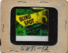 Blind Spot 1947 Vintage Glass Slide Chester Morris
