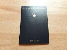 Republic Of Slovenia, Collectible passport, Cancelled