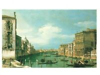 Art Postcard, The Grand Canal Venice by Giovanni Antonio Canal Canaletto IN5