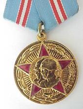 RUSSIAN SOVIET GOLD ENAMEL MEDAL ARMED FORCES MILITARY REVOLUTIO AWARD WAR ORDER
