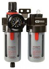 """KS Tools 515.3355 1/4"""" Aire Comprimido Unidad de mantenimiento,Reductor Presión"""
