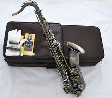 Professional TaiShan Antique Bronze Tenor Sax Saxophone High F# Saxofon WithCase