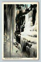 Watkins Glen NY, Winter Scene, Vintage New York Postcard