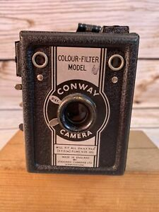 Vintage Camera - Conway Colour filter model - With case