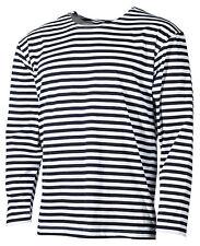 Streifen T- Shirt langarm telnyaschka S -XXXL тельняшка WMF WDW russische marine