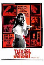 TEENAGE JAILBAIT Movie POSTER 27x40 John Alderman Rene Bond Chesley Noon Marsha