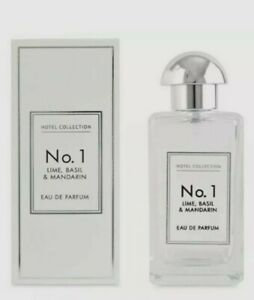 Aldi No1 Lime, Basil & Mandarin Eau De Parfum, Hotel Collection 100ml Sealed new