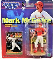Mark McGwire Starting Lineup 1999 Home Run Record Breaker Figure & Card