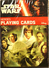 Star Wars Heroes Playing Cards Brand New 55 Heroes from Episodes I - VI