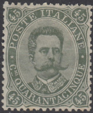 ITALY Regno - 1889 Sassone n.46 cv 11000$  MH*  Super Centered