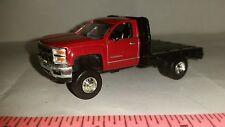 1/64 CUSTOM 2015 chevrolet chevy 2500 duramax flatbed pickup truck ERTL farm toy