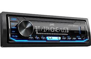 JVC - In-Dash Digital Media Receiver Built-in Bluetooth KD-X255BT