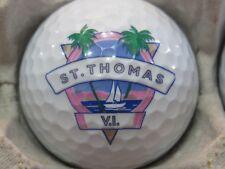 (1) ST THOMAS VIRGIN ISLANDS LOGO GOLF BALL