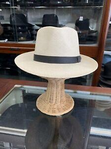 Stetson Retro Mens Genuine Panama Summer Straw Hat Size Large