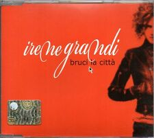IRENE GRANDI - BRUCI LA CITTA' - CD SINGLE (COME NUOVO)