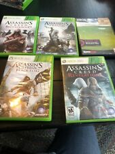 Xbox 360 Assassins Creed Lot of 5