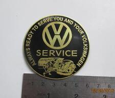 Vintage VW Volkswagen SERVICE Dash Plaque Grill Badge Automobilia