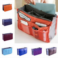 Makeup Cosmetic Bag Travel Case Toiletry Beauty Organizer Zipper Holder HanBLBD