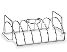 Napoleon Stainless Steel 3-in-1 Roasting, Chicken & Rib Rack New 56019