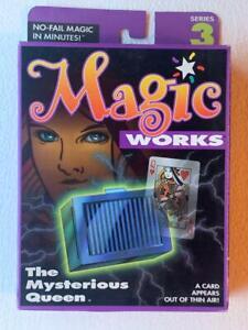 RARE TENYO MAGIC WORKS MYSTERIOUS QUEEN MINT SEALED T-157 ILLUSIONARIUM