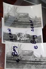 WESTERN PACIFIC RAILROAD Jordan Spreader #MW13 Vintage Black & White Photos (3)
