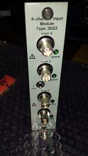 Bruel & Kjaer Type 3022 4-Channel Input Module Working!