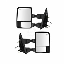 Towing Upgrade Mirror Manual Glass Power Folding Textured & for Ford F150