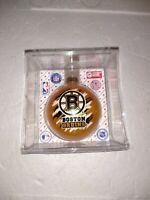 Topperscot NHL Boston Bruins Glass Ornament New HTF see pics. free ship