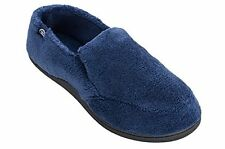 Isotoner Men's Microterry Slip On Slippers - Multiple Colors / Sizes - NEW