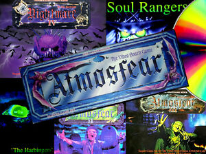 Replacement DVD addons for VHS ATMOSFEAR (NIGHTMARE) & HARBINGERS BOARD GAMES
