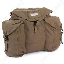 Original Italian Khaki Rucksack - Vintage Esercito Italiano Military Backpack