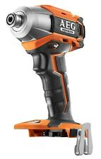 AEG 18v Brushless Impact Driver Skin Lithium Cordless 195nm