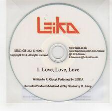 (GG725) Leika, Love Love Love - 2014 DJ CD