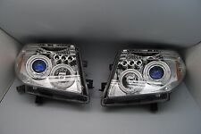for 05-08 Frontier / Pathfinder LED Blue Projector Headlight Chrome Rare