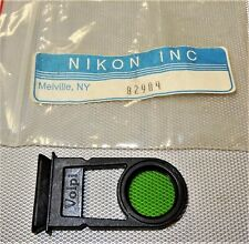 Nikon Volpi Green Fiber Optic Illuminator Filter