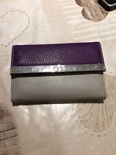 Ladies Purple And Grey  purse from debenhams