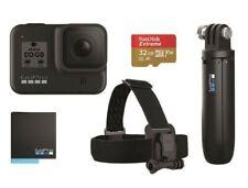 Gopro Hero 8 Holiday Bundle Set + Zubehörpaket + Halter Action Kamera