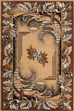 ORIENTAL TAPIS FLORAL bordures Bords Moderne Tapis beige 190x280