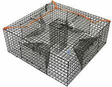 Heavy Duty Shrimp Crab Lobster Cage Crawfish Fish Bait Trap Box Net Fishing Lure