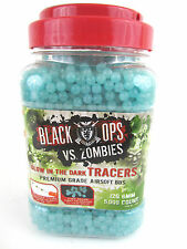 BLACK OPS VS. ZOMBIES 5,000 AIRSOFT BBs - 12G 6MM - GLOW IN THE DARK