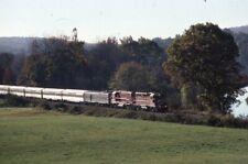 URS Special Railroad Train MANSFIELD CT Original 1998 Photo Slide